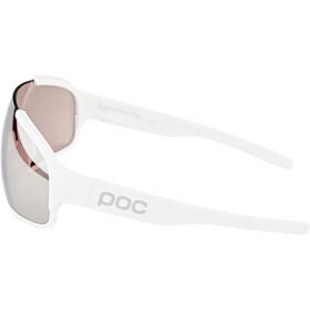POC Crave Okulary przeciwsłoneczne, biały/srebrny